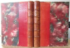 FABLES DE JEAN DE LA FONTAINE ILLUSTREES PAR JOSEPH HEMARD 2 VOL RELIES 1930 EO