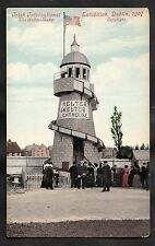 C1907 View of people and helter skelter. Irish International Exhibition, Dublin