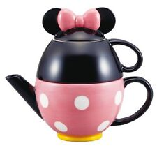 hm0149 Disney Minnie Mouse teapot set (pot and mug) from Japan