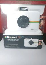 Polaroid Snap Touch Instant Print Digital Camera With LCD Display (white)