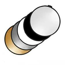"""80cm 32"""" 5 In 1 Multi Collapsible Photo Photography Reflector For Flash"""
