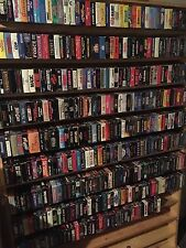 Lot of VHS Tapes - Pick Any 10 - 600+ Titles To Choose From Lots of Horror +More