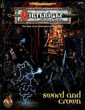SWORD AND CROWN w/MAP VGC! Birthright AD&D D&D Module Advanced Dungeons Dragons