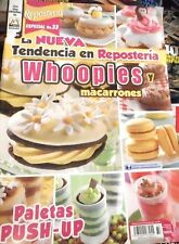 """MEXICAN COOKING RECIPES IN SPANISH DESSERTS  *WHOOPIES Y MACARRONES""""  NEW"""