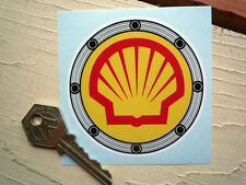 SHELL FUEL FILLER STICKER Ducati Ferrari Race Car Bike