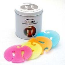 SOCKSTAR SOCKENKLAMMERN White Edition Präsentdose = 20 Stück in 4 Pastellfarben