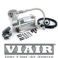 VIAIR 380C CHROME AIR RIDE 12v VOLT 200PSI COMPRESSOR AIRLIFT PERFORMANCE