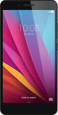 Huawei - Honor 5X 4G with 16GB Memory Cell Phone (Unlocked) - Gray