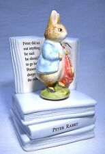 BORDER FINE ARTS BEATRIX POTTER MUSICAL FIGURE  PETER RABBIT  MIB (B701)