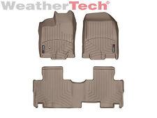 WeatherTech® DigitalFit FloorLiner - Lincoln MKX - 2007-2013 - Tan