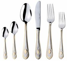Medallion 75-Pc. Flatware Dining Set, 18/10 Stainless Silverware, Service for 12