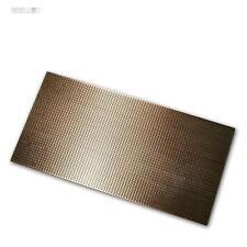 PLATINA 200x100 mm Junta de tira Cobre Cu LED