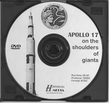 APOLLO 17: ON THE SHOULDERS OF GIANTS - NASA Documentary On DVD (NTSC)