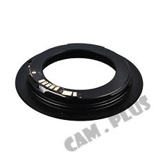 3nd AF Confirm M42 Lens to Canon EOS Camera Adapter Black 5D Mark III 650D
