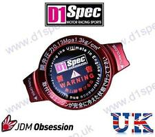 D1 SPEC RACING RADIATOR CAP 1.3kg/cm RED BIG HEAD JDM DRIFT nitroXukimport