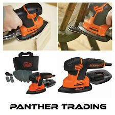 Black & Decker 120W / 240W Mouse Sander Supplied with 7 Accessory Bits - KA2000