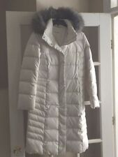 CALVIN KLEIN Women's SM  Long Quilted Down Puffer Coat Heavy Warm Winter Jacket