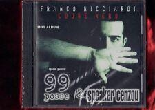 FRANCO RICCIARDI 99 POSSE E SPEACKER CENZOU-CUORE NERO  CD MINI  NUOVO SIGILLATO
