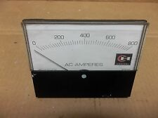 CUTLER HAMMER ES-5AAC  AC AMPERES 0-800 METER ES5AAC