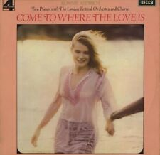 RONNIE ALDRICH Come To Where The Love Is 1972 UK  VINYL LP EXCELLENT CONDITION