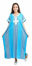 Kaftan Moroccan Women Arabian Beach Summer Caftan Dress Islamic Abaya Linen New