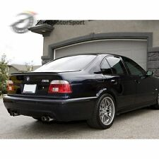 * Painted For BMW E39 95-03 Sedan M5 Trunk lip spoiler Jet Black #668