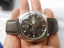 RARE VINTAGE SWISS SS ENICAR GENTS AUTOMATIC WRISTWATCH