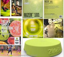 Zumba Incredible Results System~RISER/RIZER+101 INTRO DVD+STEP DVD+7DAY RECEIPES