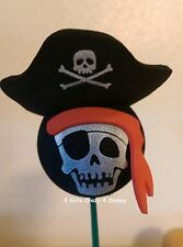 Disney MICKEY PIRATES Antenna Topper DEAD MEN TELL NO TALES RETIRED