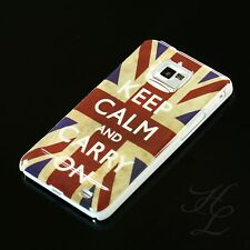 Samsung Galaxy s2 i9100, funda rígida, funda protectora, funda, protección motivo estuche keep Calm Carry On