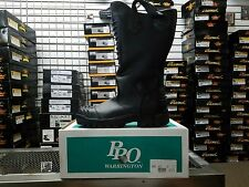 PRO Leather Fire Boots Model 8000 NFPA 1971 2007 Edition Size 8D