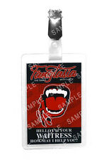True Blood Fangtasia Waitress ID Badge Vampire Cosplay Prop Costume Comic Con