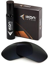 Polarized IKON Replacement Lenses For Oakley Disclosure Sunglasses Black