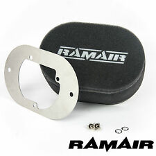 RAMAIR Carb Air Filters With Baseplate Pierburg 2B2/2B4/2B5 65mm Bolt On