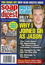 Billy Miller, Kristian Alfonso, Chris L. McKenna Oct. 13, 2014 Soap Opera Digest