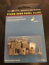 New York Wire 8-Piece Storm Door Panel Clips 71454 New!!!