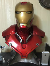 Iron Man Life Size 1/1 Scale Bust MK3 Mark III Custom Made