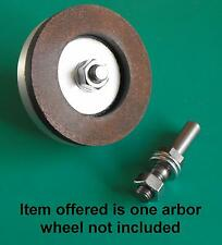 Arbor for 2inch Diamond wheel gravers watchmakers lathe