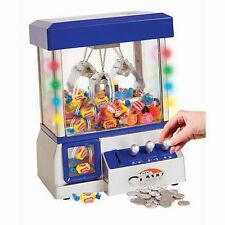 The Claw Electronic Arcade Candy Game w/ LED Lights (Blue) Slight Damage to Box