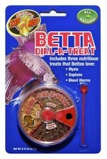 Zoo Med Labs Food Betta Dial-a-Treat Includes Mysis Daphnia Blood Worms Fish