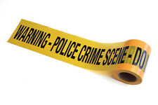 YELLOW CRIME SCENE TAPE FOR FUN NOVELTY PARTY ACCESSORY 30meters
