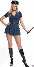 M8039W  Mystery House Costume Plus size Police Babe- size 2X