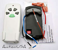 Hampton Bay / Hunter Ceiling Fan Remote kit for CFL lights and Regular Bulbs