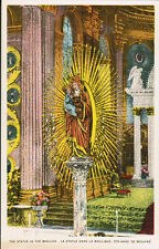 Unused  Postcard Saint (Ste) Anne de Beaupre, Quebec, Basilica, Old Church Art