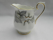 Royal Albert SILVER MAPLE MILK / CREAM JUG, 8cm Tall.