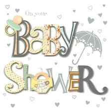On Your Baby Shower Greeting Card By Talking Pictures Greetings Cards