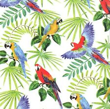 RAIN FOREST TROPICAL BIRDS  GIFT TISSUE PAPER -10 Sheets