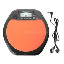 Digital Electronic Drummer Training Practice Drum Pad Metronome Q3U8