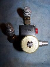 PARKER HYDRAULIC VALVE PR400S w/ PARKER FITTINGS
