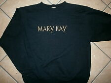 MARY KAY SWEATSHIRT Embroidered Logo Cosmetic Makeup Company Saleswoman LARGE